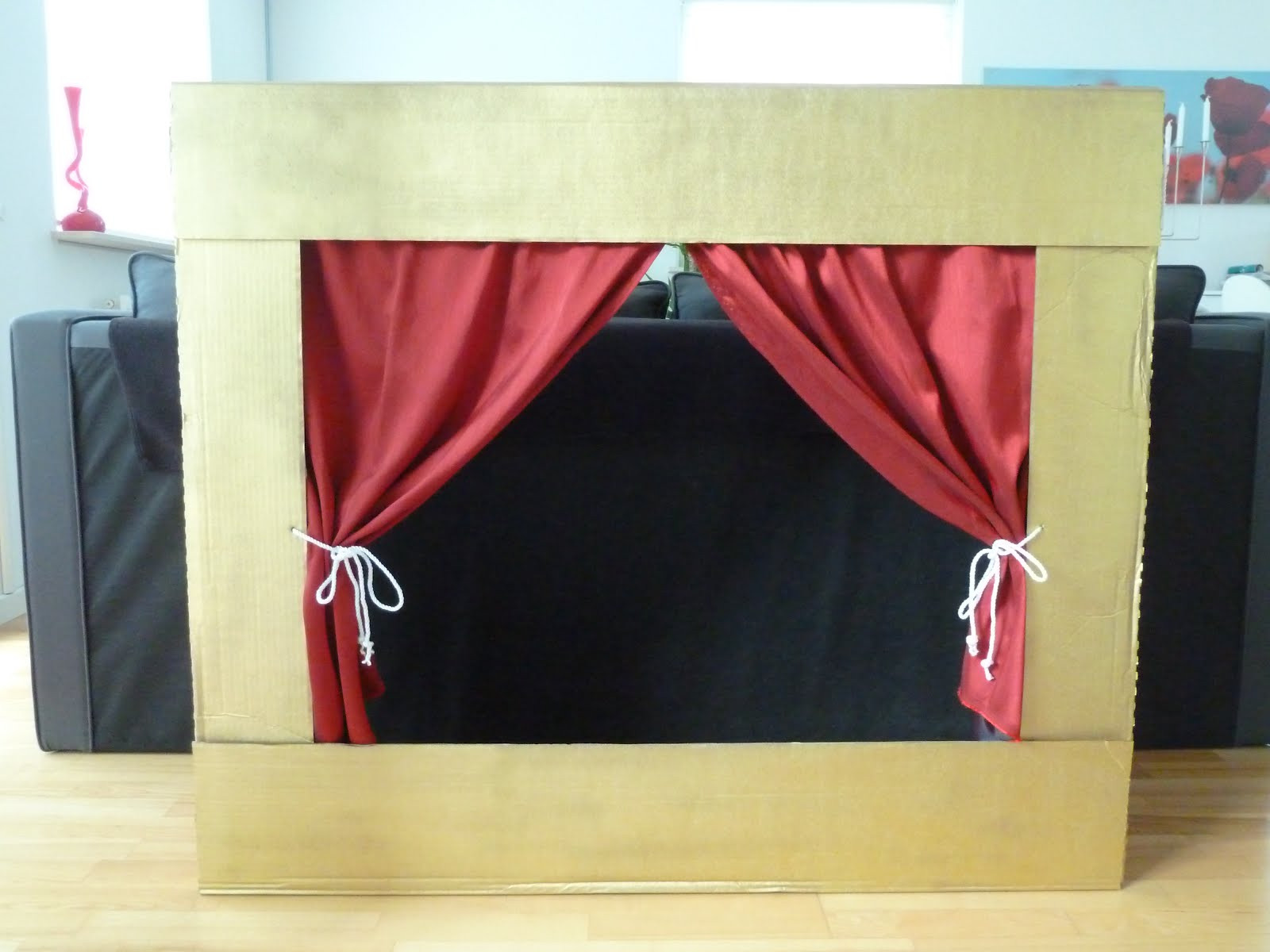 Best ideas about DIY Puppet Theater . Save or Pin Family FECS DIY Floor or Table Top Children s Puppet Now.
