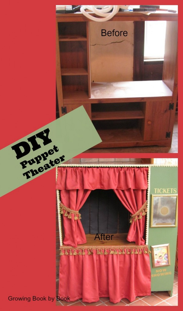 Best ideas about DIY Puppet Theater . Save or Pin Zemanta Related Posts Growing Book by Book Now.