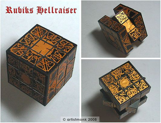 Best ideas about DIY Puzzle Box . Save or Pin DIY Hellraiser Rubik s Cube Puzzle Box Now.