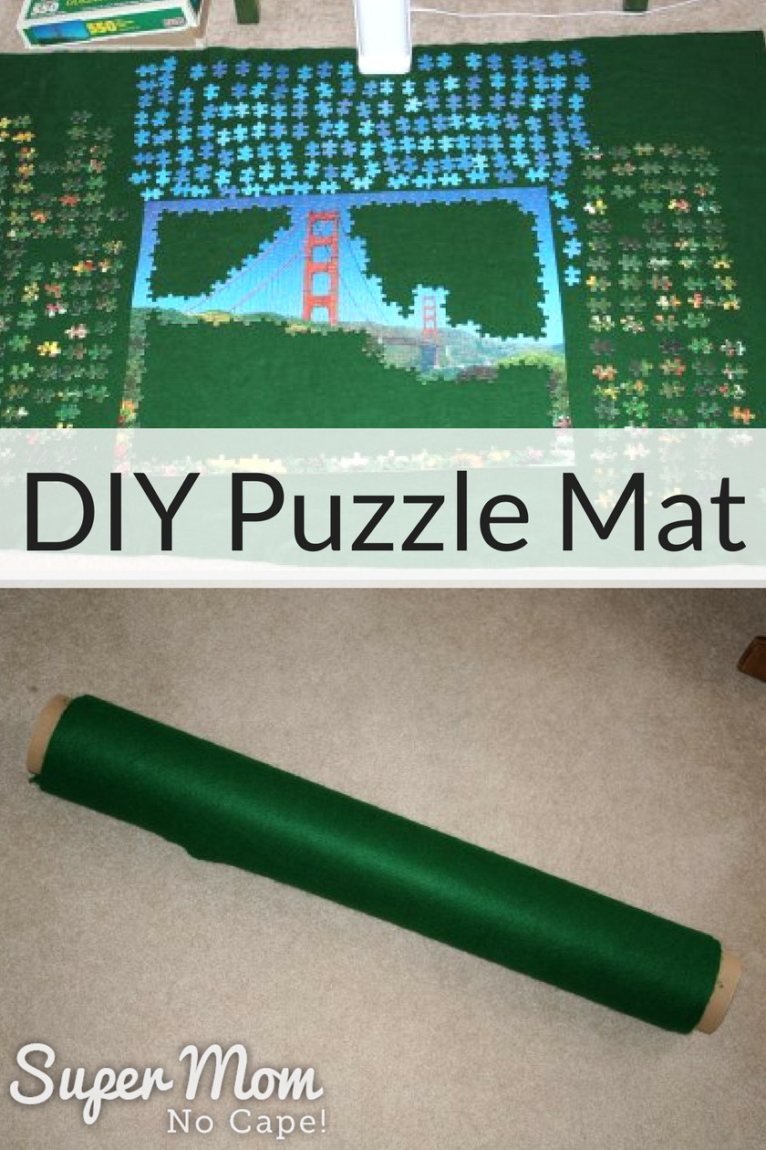 Best ideas about DIY Puzzle Mat . Save or Pin DIY Puzzle Mat Super Mom No Cape Now.