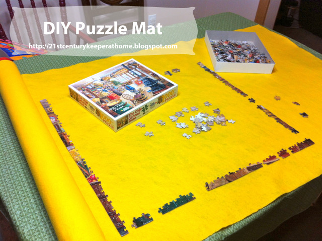 Best ideas about DIY Puzzle Mat . Save or Pin 21st Century Keeper at Home DIY Puzzle Mat Now.