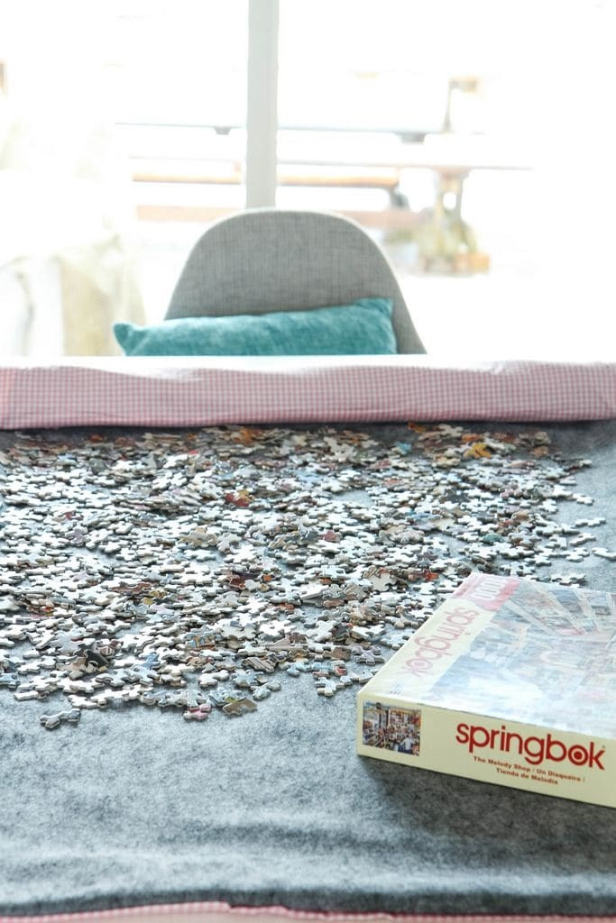 Best ideas about DIY Puzzle Mat . Save or Pin DIY Roll Up Jigsaw Puzzle Mat MomAdvice Now.