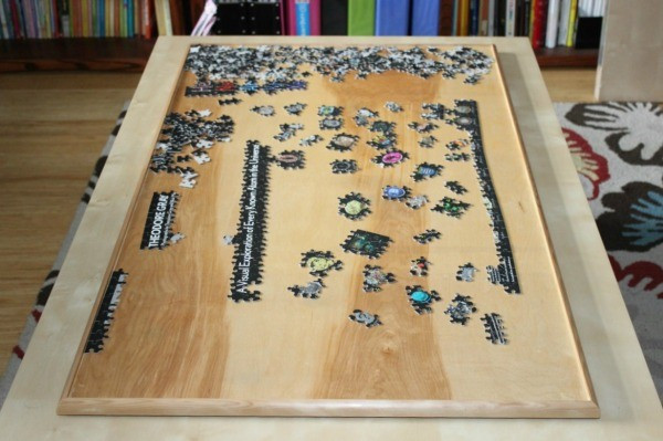 Best ideas about DIY Puzzle Table . Save or Pin Making a Puzzle Board Now.