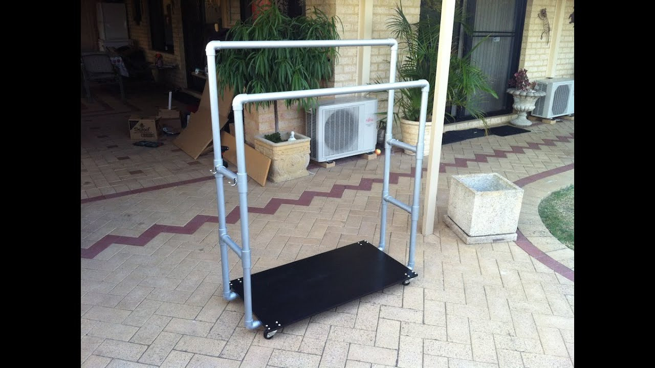 Best ideas about DIY Pvc Clothes Rack . Save or Pin How to PVC Pipe Clothes Rack Now.