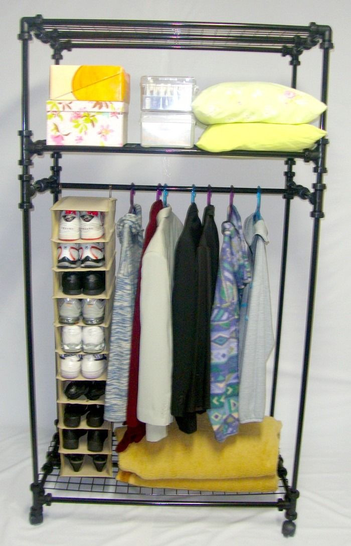 Best ideas about DIY Pvc Clothes Rack . Save or Pin dá pra fazer pvc DIY organize Now.