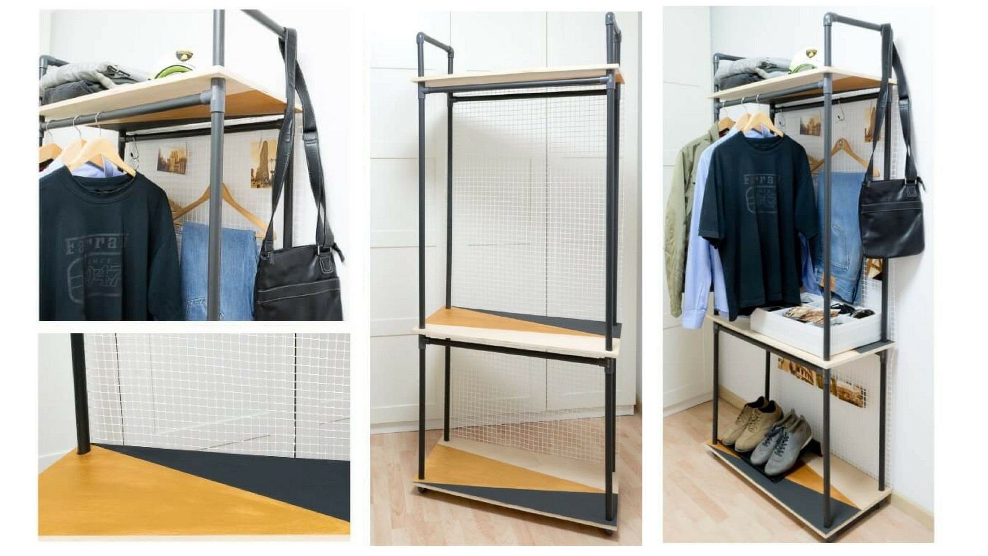 Best ideas about DIY Pvc Clothes Rack . Save or Pin DIY PVC Pipe Clothes Rack The Handy Mano Now.