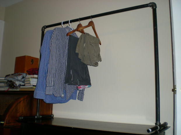 Best ideas about DIY Pvc Clothes Rack . Save or Pin Free standing Clothing Rack Now.