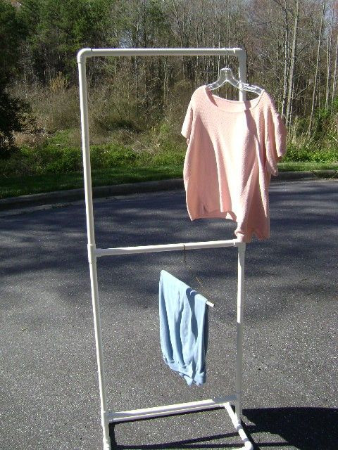Best ideas about DIY Pvc Clothes Rack . Save or Pin simple display clothing rack ed to make for costume Now.