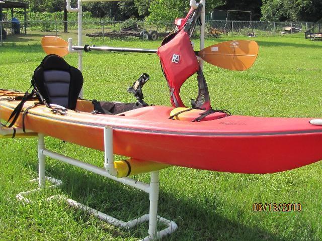 Best ideas about DIY Pvc Kayak Rack . Save or Pin PVC Kayak Storage Rack DIY Projects Ideas Now.