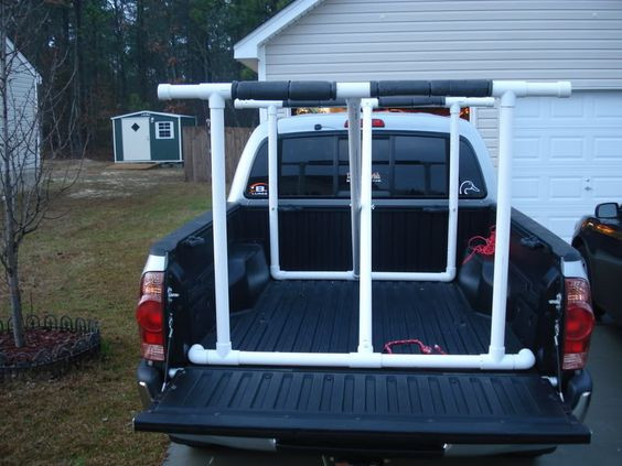 Best ideas about DIY Pvc Kayak Rack . Save or Pin Homemade Pvc pipes and Canoe rack on Pinterest Now.