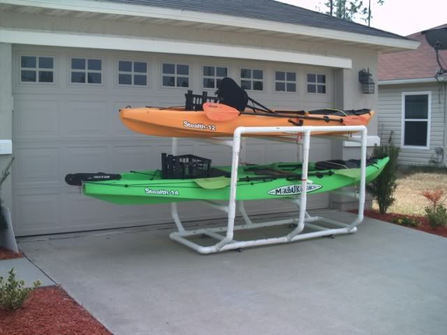 Best ideas about DIY Pvc Kayak Rack . Save or Pin 1000 images about DIY kayak trailer stands on Pinterest Now.