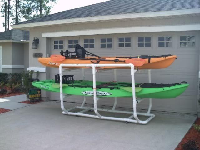 Best ideas about DIY Pvc Kayak Rack . Save or Pin DIY PVC Kayak Rack General Kayak stuff Now.