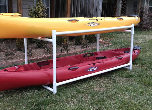 Best ideas about DIY Pvc Kayak Rack . Save or Pin Building a Kayak Storage Rack Opinions on this design Now.