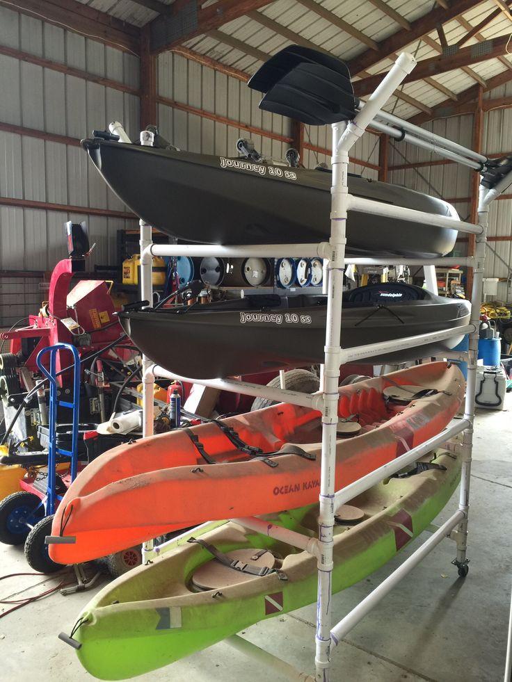Best ideas about DIY Pvc Kayak Rack . Save or Pin Best 25 Kayak rack ideas on Pinterest Now.