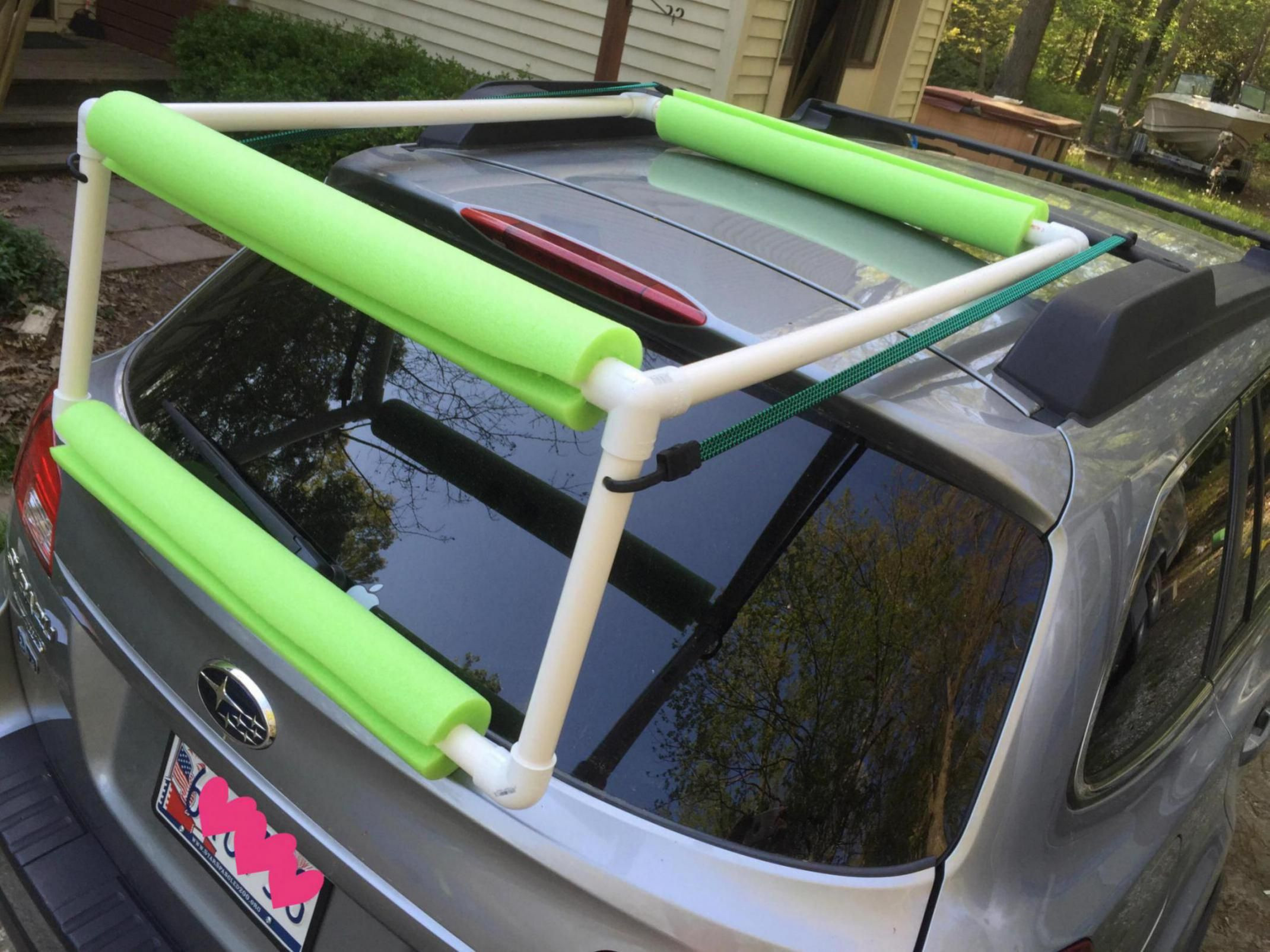 Best ideas about DIY Pvc Kayak Rack . Save or Pin outdoors Pinterest Now.