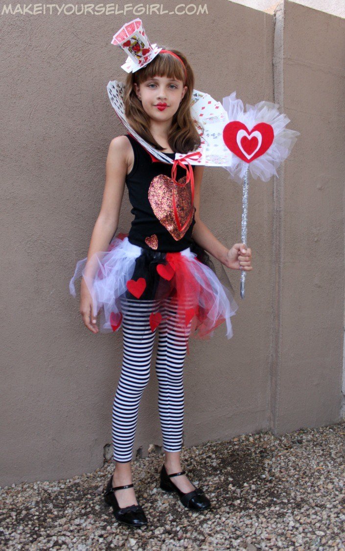 Best ideas about DIY Queen Of Hearts Costume . Save or Pin DIY Queen of Hearts Costume Tutorial Make It Yourself Girl Now.