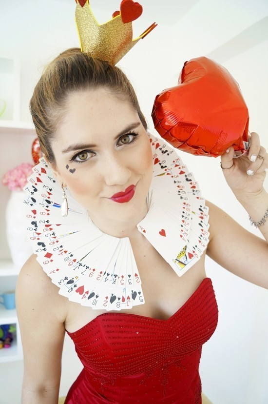 Best ideas about DIY Queen Of Hearts Costume . Save or Pin Diy Queen Hearts Costume Collar · How To Make A Costume Now.