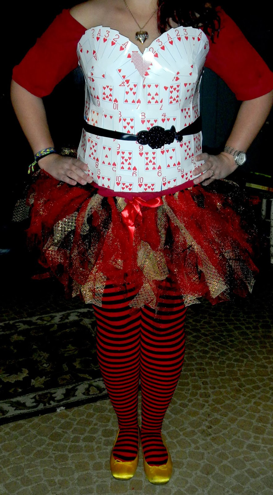 Best ideas about DIY Queen Of Hearts Costume . Save or Pin The [Very Busy] Working Artist DIY Queen of Hearts Costume Now.