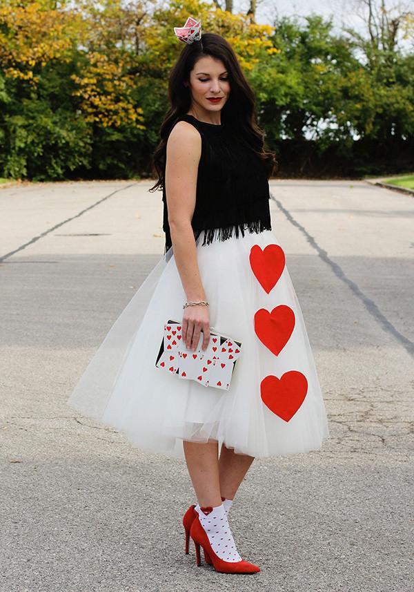 Best ideas about DIY Queen Of Hearts Costume . Save or Pin Halloween DIY Haley's Queen of Hearts Costume Lauren Conrad Now.