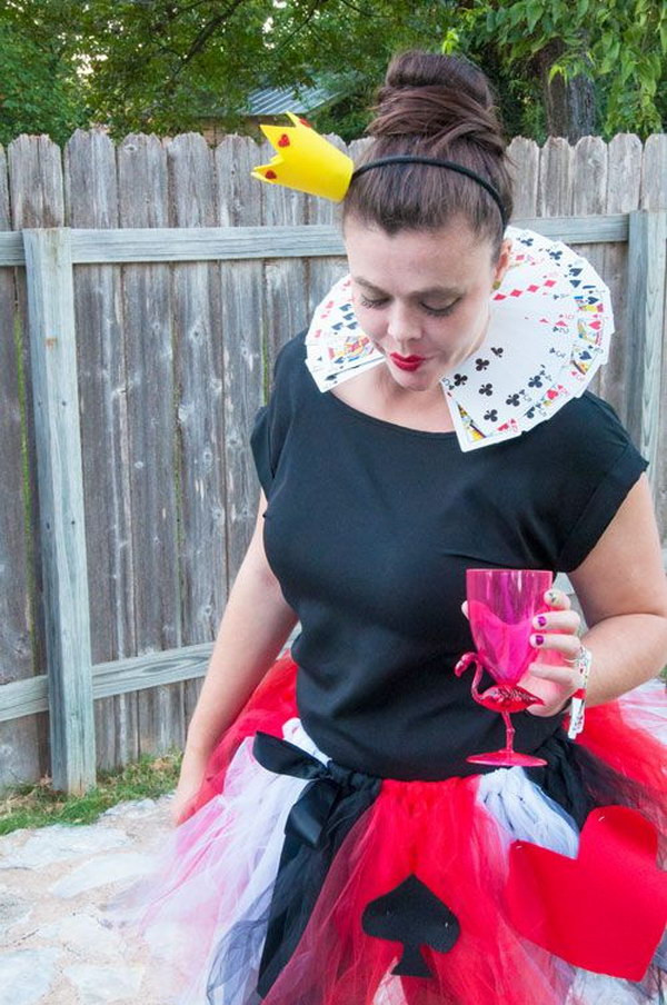 Best ideas about DIY Queen Of Hearts Costume Tutu . Save or Pin 20 Alice in Wonderland Costumes and DIY Ideas 2017 Now.