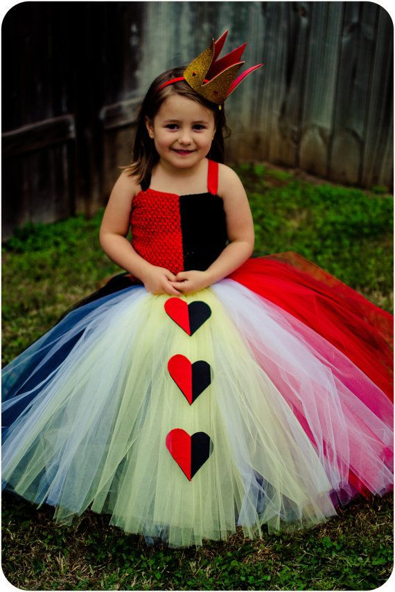 Best ideas about DIY Queen Of Hearts Costume Tutu . Save or Pin The Red Queen Queen of Hearts Tutu Dress Now.