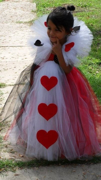 Best ideas about DIY Queen Of Hearts Costume Tutu . Save or Pin Queen of Hearts Tutu Dress by TUTUSandACCESSORIES on Etsy Now.
