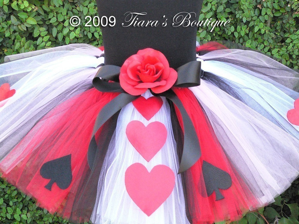 Best ideas about DIY Queen Of Hearts Costume Tutu . Save or Pin Queen of Hearts Tutu READY TO SHIP A Tiara s Boutique Now.
