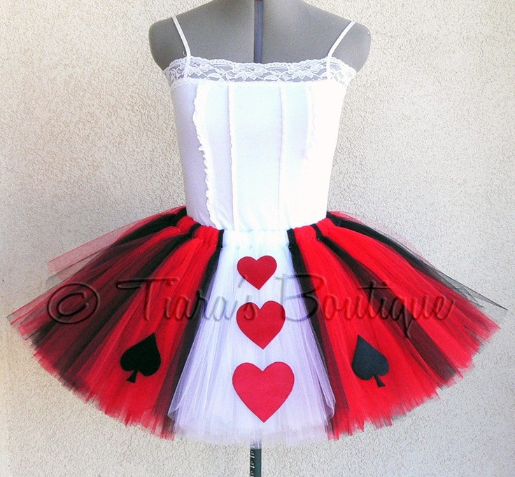 Best ideas about DIY Queen Of Hearts Costume Tutu . Save or Pin 359 best images about DIY Tutu s on Pinterest Now.
