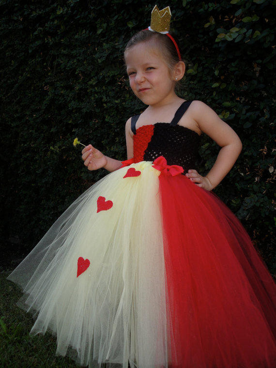 Best ideas about DIY Queen Of Hearts Costume Tutu . Save or Pin Alice in wonderland Queen of hearts tutu from Hollywoodtutu on Now.