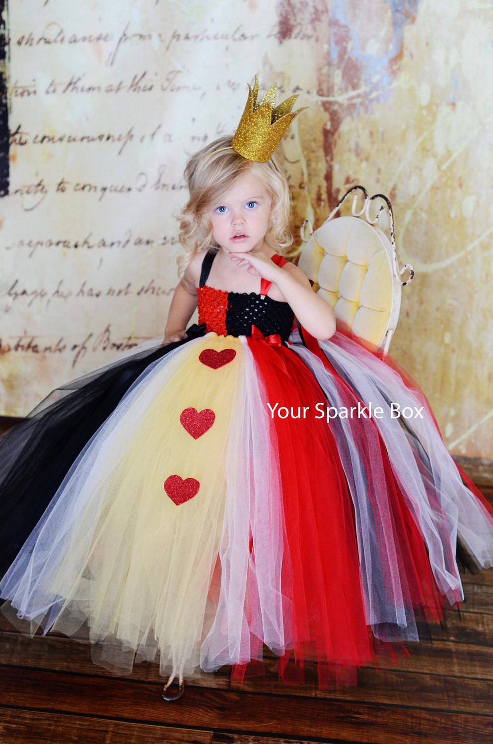 Best ideas about DIY Queen Of Hearts Costume Tutu . Save or Pin Goosie Girl September 2011 Now.