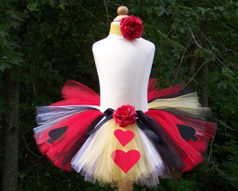 Best ideas about DIY Queen Of Hearts Costume . Save or Pin DIY TUTU KIT Queen of Hearts Alice in by baileysblossoms Now.