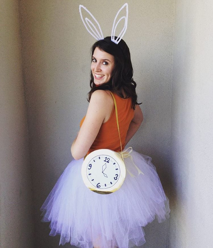Best ideas about DIY Rabbit Costume . Save or Pin Alice in Wonderland Halloween Costume DIY Now.