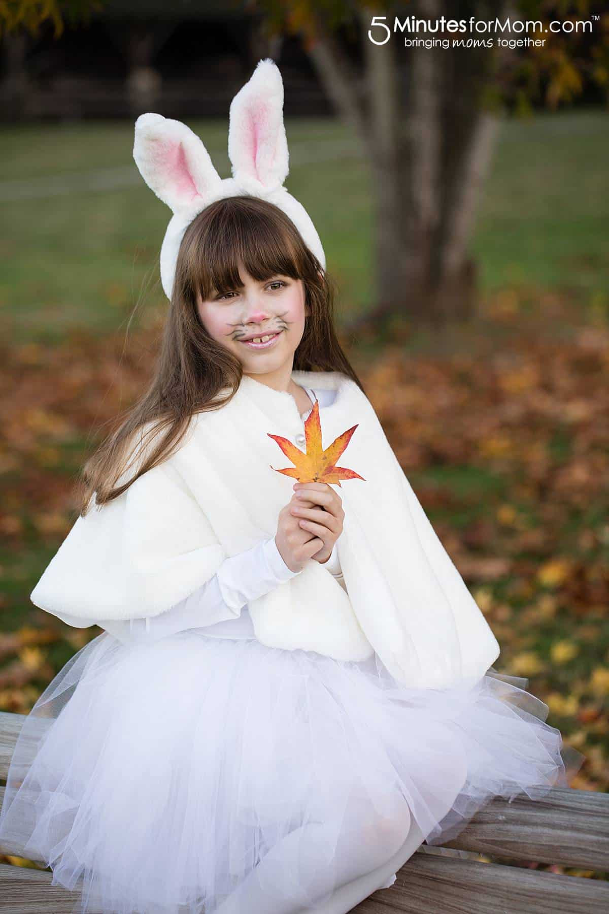 Best ideas about DIY Rabbit Costume . Save or Pin DIY Halloween Costumes For Girls 5 Minutes for Mom Now.