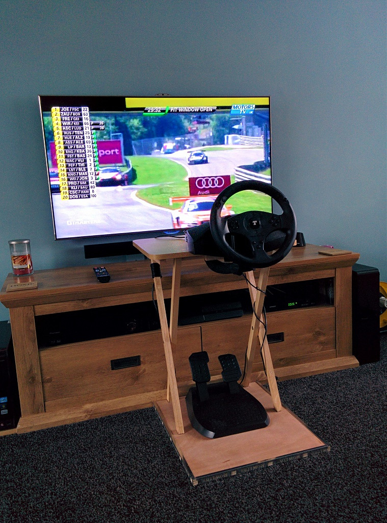 Best ideas about DIY Racing Wheel Stand Plans . Save or Pin diy steering wheel stand Do It Your Self Now.