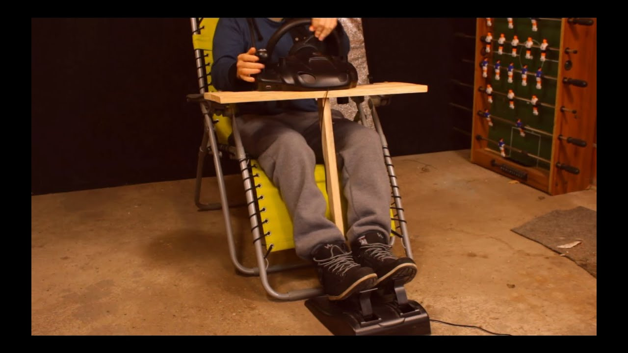 Best ideas about DIY Racing Wheel Stand Plans . Save or Pin DIY 0$ Steering Wheel Mount in 20 min Easy and Quick Now.