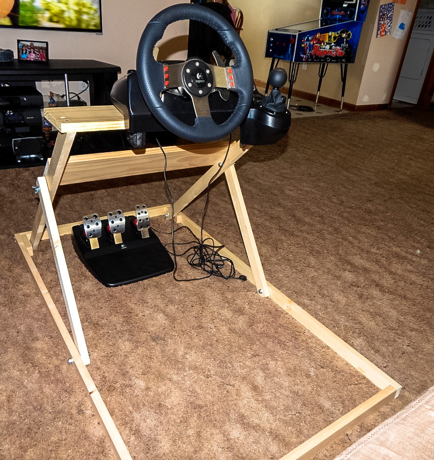 Best ideas about DIY Racing Wheel Stand Plans . Save or Pin Diy Folding Steering Wheel Stand Do It Your Self Now.