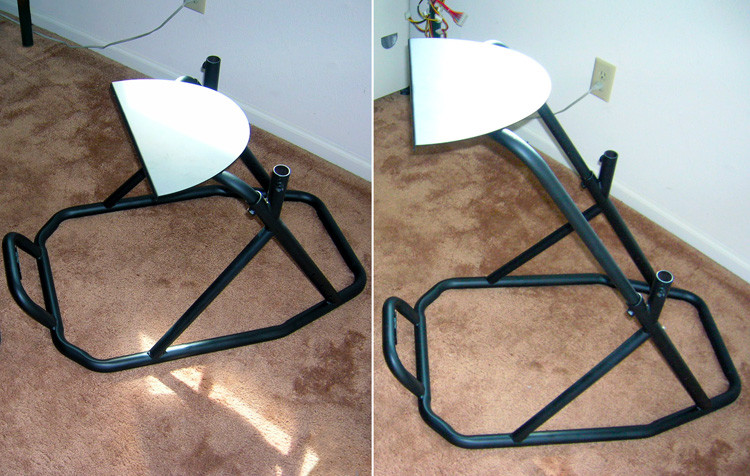 Best ideas about DIY Racing Wheel Stand Plans . Save or Pin Diy Racing Wheel Stand Pvc Clublifeglobal Now.