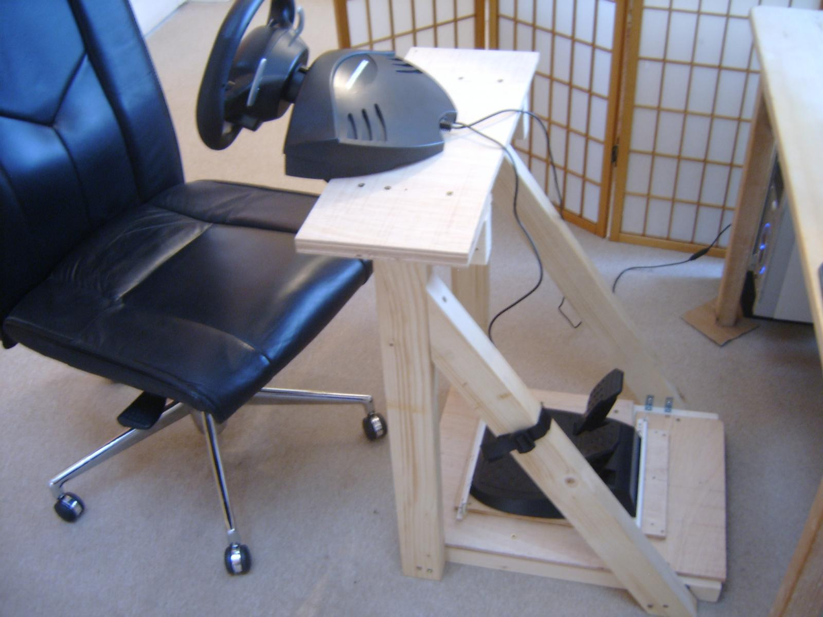 Best ideas about DIY Racing Wheel Stand Plans . Save or Pin Looking for Diy wheel stand plans Sim Racing Rigs Now.