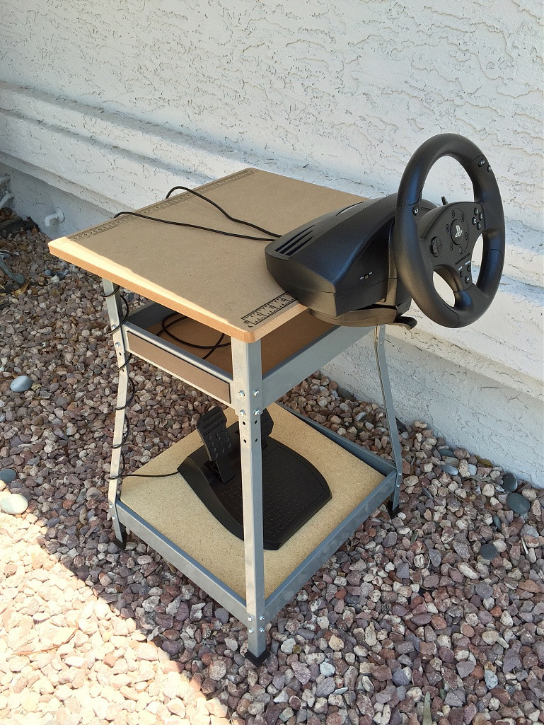 Best ideas about DIY Racing Wheel Stand Plans . Save or Pin steering wheel stand diy Do It Your Self Now.