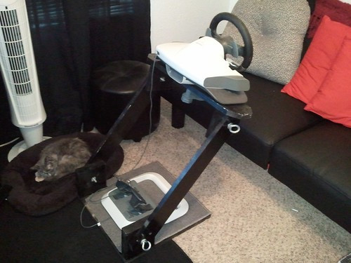 Best ideas about DIY Racing Wheel Stand Plans . Save or Pin DIY Wood Wheel Stand adjustable & collapsible Sim Now.