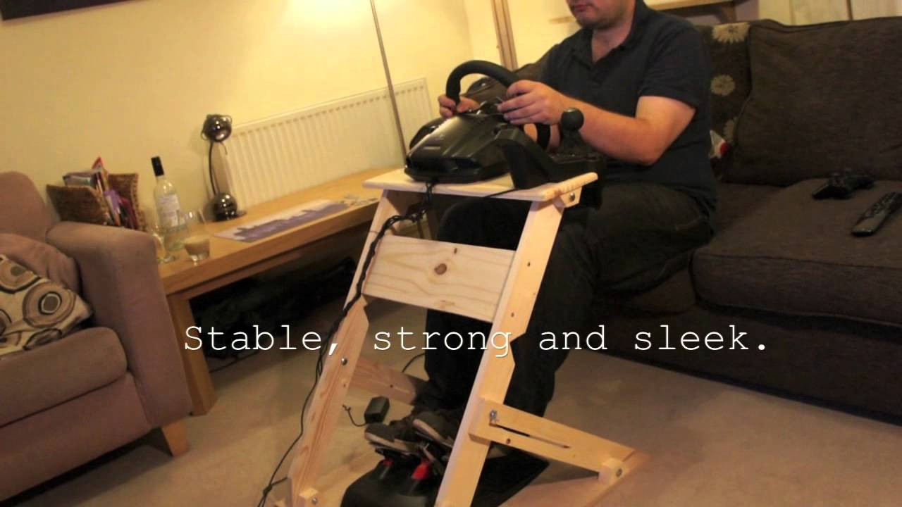 Best ideas about DIY Racing Wheel Stand Plans . Save or Pin The WheelStand mkII Custom DIY Steering Wheel Stand Now.