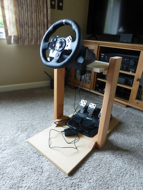 Best ideas about DIY Racing Wheel Stand Plans . Save or Pin Racing Wheel Stand Now.