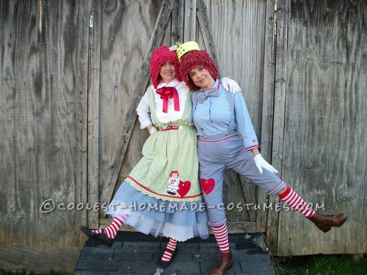 Best ideas about DIY Raggedy Ann Costume . Save or Pin Mother and Daughter Raggedy Ann and Andy Costumes Now.