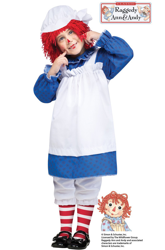Best ideas about DIY Raggedy Ann Costume . Save or Pin Brand New Rag Doll Raggedy Ann Toddler Costume Now.