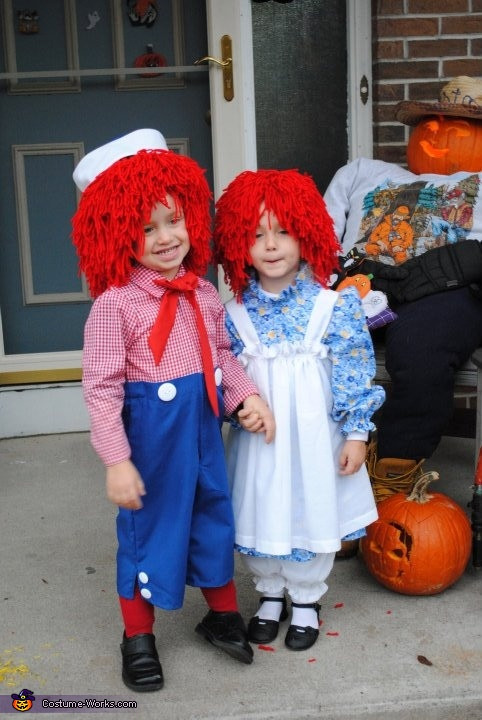 Best ideas about DIY Raggedy Ann Costume . Save or Pin Twin and Pregnancy DIY Costumes Now.