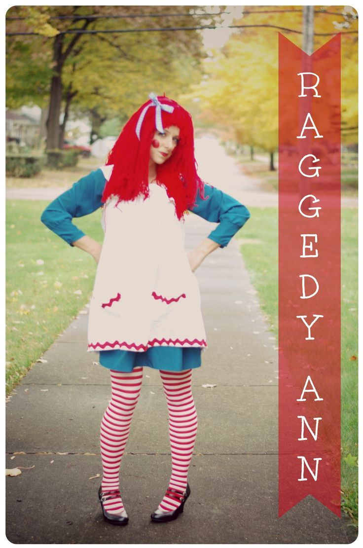 Best ideas about DIY Raggedy Ann Costume . Save or Pin adult raggedy ann costume Raggedy Ann Costume Now.