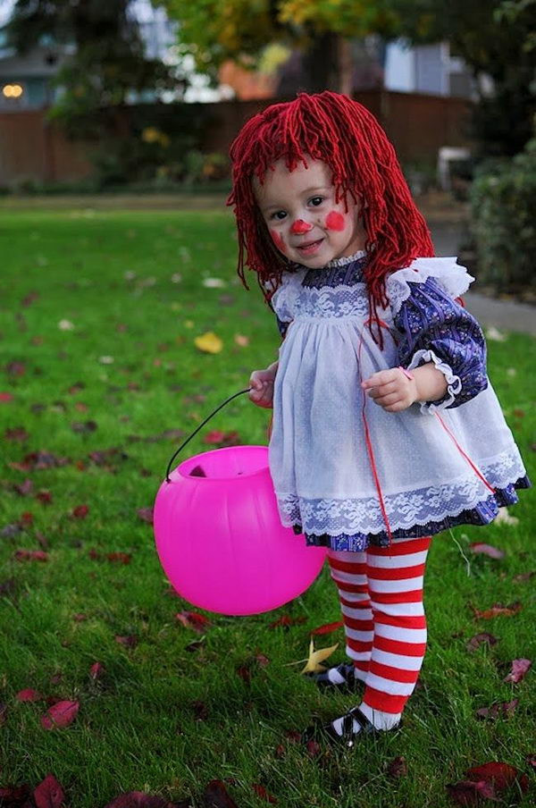 Best ideas about DIY Raggedy Ann Costume . Save or Pin 50 Super Cool Character Costume Ideas Hative Now.