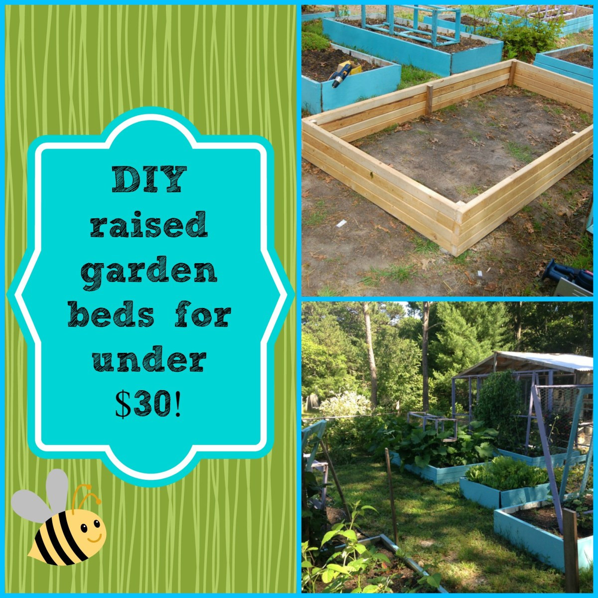 Best ideas about DIY Raised Beds Garden . Save or Pin DIY Super Easy Raised Garden Bed for under $30 Now.