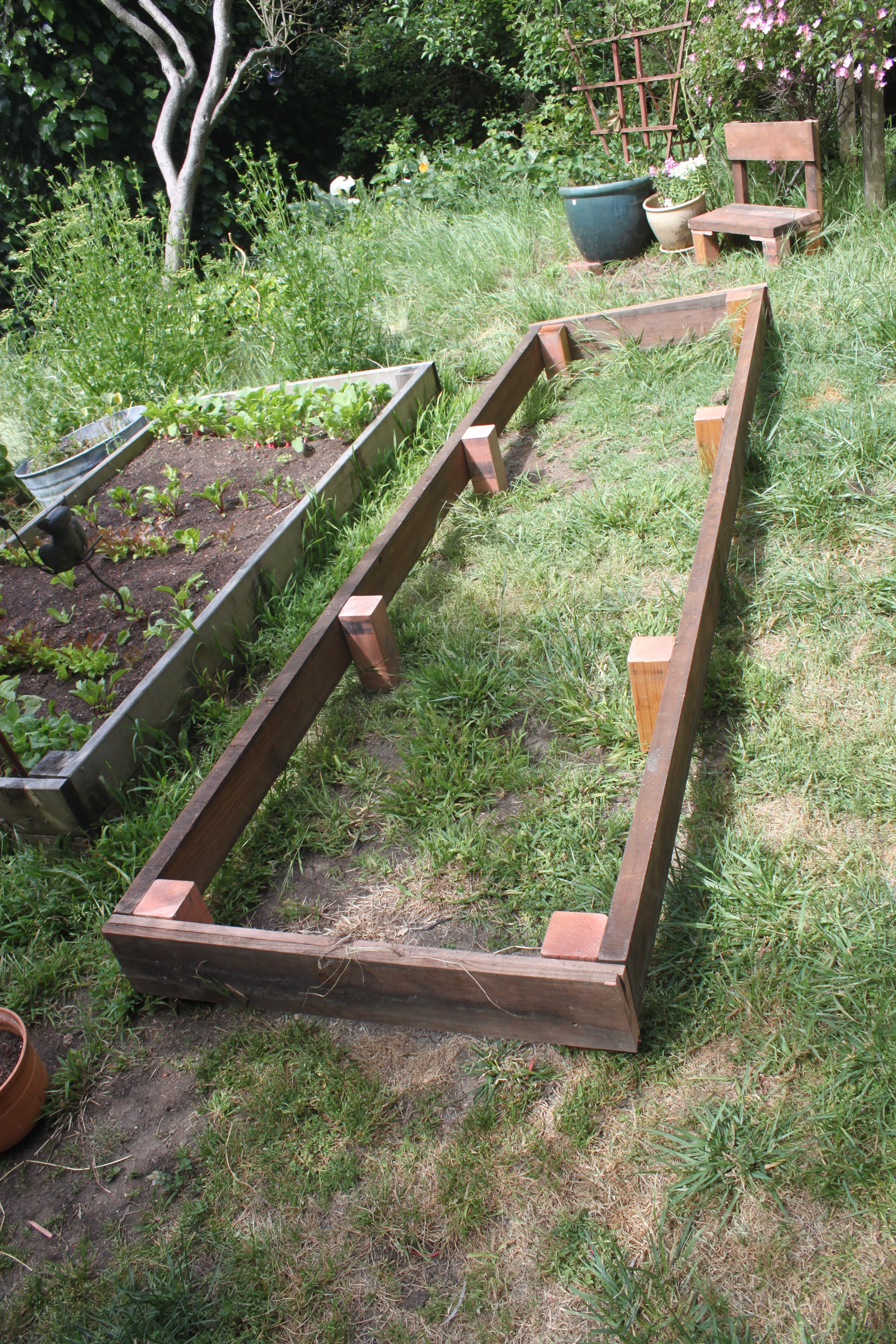 Best ideas about DIY Raised Planter Boxes . Save or Pin Recycle Wood For DIY Raised Garden Planter Boxes Ideas In Now.