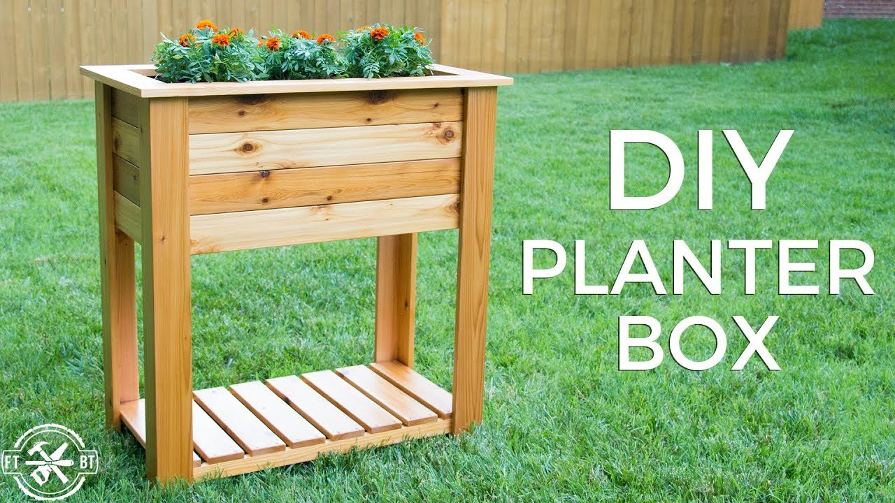 Best ideas about DIY Raised Planter Boxes . Save or Pin DIY Raised Planter Box with Hidden Drainage Now.